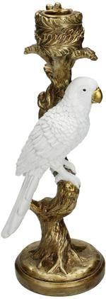 Kerzenhalter Bird White