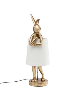 Große Design Tischlampe Rabbit