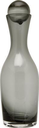 Karaffe Houston in Grau mit Kugelverschluss, 1 L