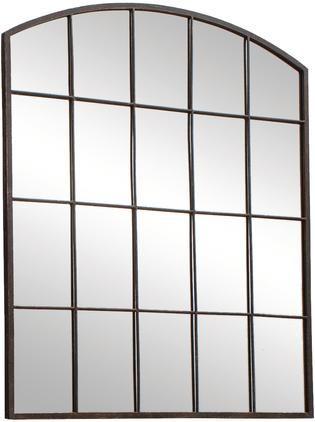 Kovové nástěnné zrcadlo Rockford