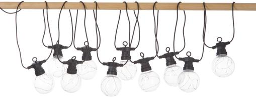 Guirnalda de luces LED para exterior Big Cirkus, 950cm, 10 luces