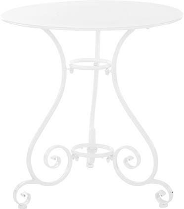 Runder Gartentisch Etienne aus Metall