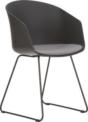 Židle spodručkami s podsedákem Bogart, 2 ks