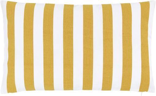 Kissenhülle Timon in Gelb, Weiß
