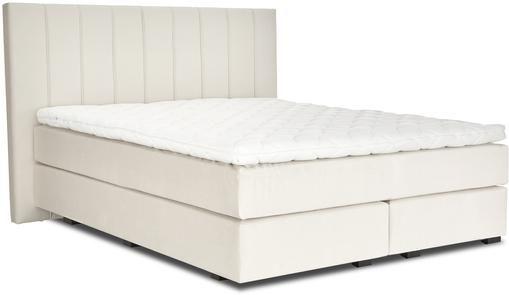 Sametová kontinentální postel premium Lacey
