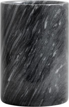 Marmor-Flaschenkühler Marbi in Schwarz