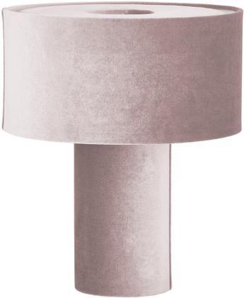 Samt-Tischlampe Frida