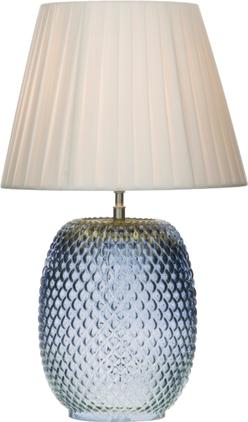 Tischlampe Cornelia aus Glas