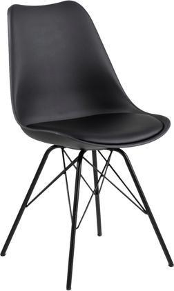Jídelní židle sčalouněným sedákem Eris, 2 ks