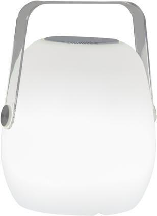 Mobile Dimmbare Außentischlampe Voice mit Lautsprecher und Farbwechsel