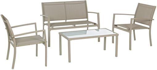 Garten-Lounge-Set Trent, 4-tlg.
