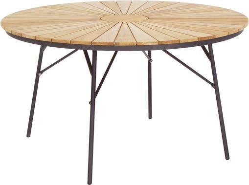 Runder Gartentisch Hard & Ellen aus Holz
