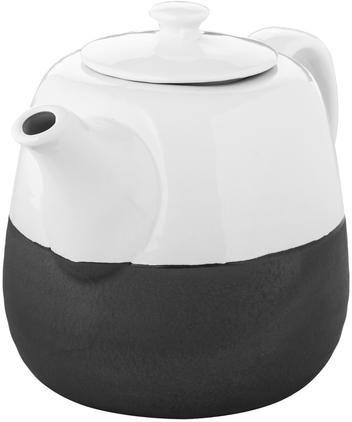 Steingut Handgemachte Teekanne Esrum matt/glänzend, 1.4 L