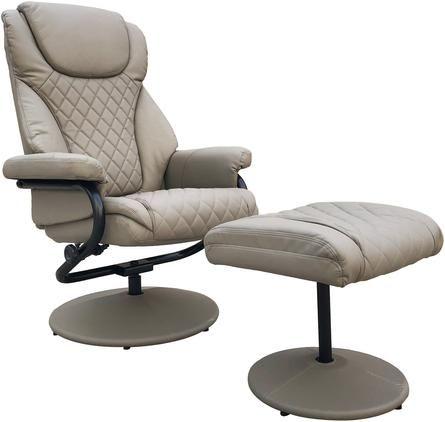 Sillón reclinable con reposapiés Relax