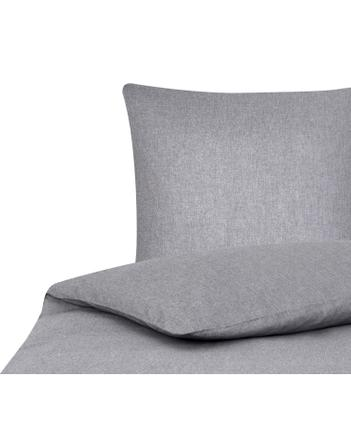 Bettwäsche Cashmere in Grau