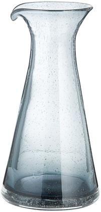 Mundgeblasene Karaffe Bubble mit kleinen Luftbläschen, 800 ml