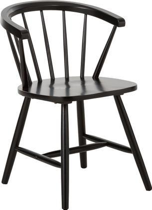 Stolička z dreva s opierkami vo Windsor štýle Megan, 2 ks