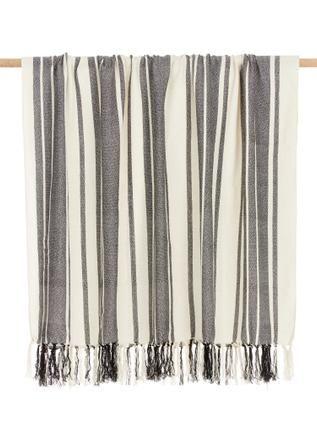 Gestreiftes Plaid Lines aus recyceltem Polyester