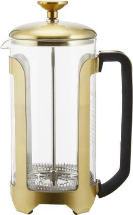 Kaffeebereiter Le'Xpress in Gold/Transparent