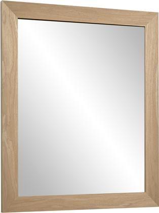 Nástěnné zrcadlo sdřevěným rámem Wilany