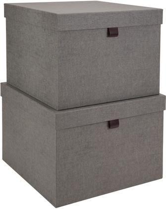 Aufbewahrungsboxen-Set Tristan, 2-tlg.