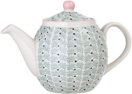 Steingut Teekanne Maya, 1.2 L