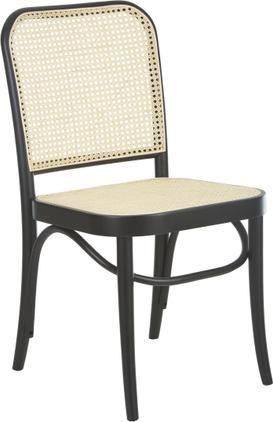 Dřevěná židle s vídeňskou pleteninou Franz