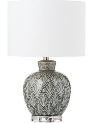Keramik-Tischlampe Brooklyn im Boho-Style