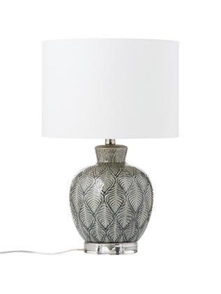 Große Keramik-Tischlampe Brooklyn