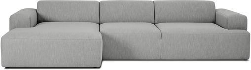 Ecksofa Melva (4-Sitzer) in Grau