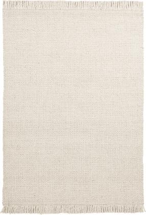 Ručne tkaný vlnený koberec so strapcami Alvin
