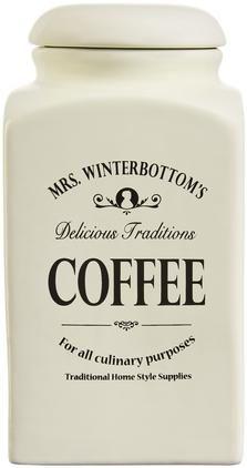 Aufbewahrungsdose Mrs Winterbottoms Coffee, B 11 x H 21 cm