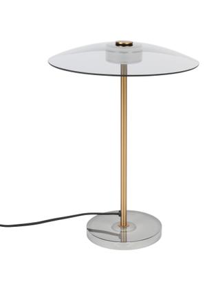Dimmbare LED-Tischlampe Float aus Glas