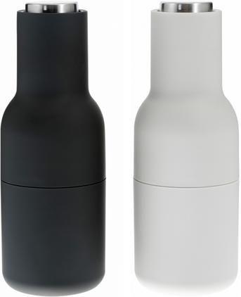 Designer Salz- & Pfeffermühle Bottle Grinder mit Edelstahldeckel