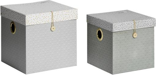 Aufbewahrungboxen-Set Square, 2-tlg.