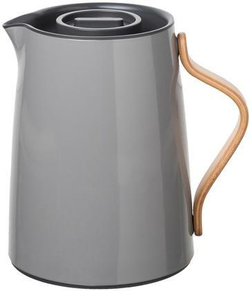 Teezubereiter Emma in Grau glänzend, 1 L
