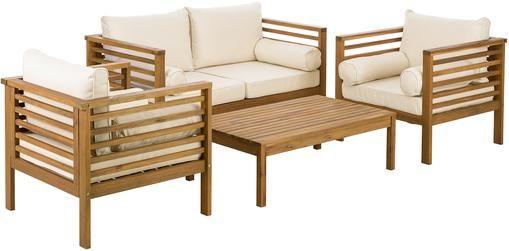 Garten-Lounge-Set Bo, 4-tlg.