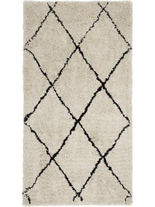Ručne tuftovaný koberec s vysokým vlasom Naima