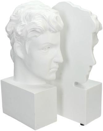 Buchstützen David, 2 Stück