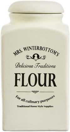 Aufbewahrungsdose Mrs Winterbottoms Flour, Ø 11 x H 21 cm