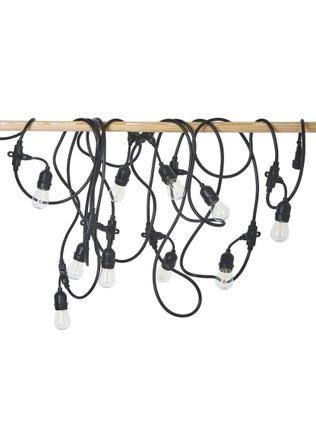 LED-Lichterkette Joy, 1000 cm, 10 Lampions