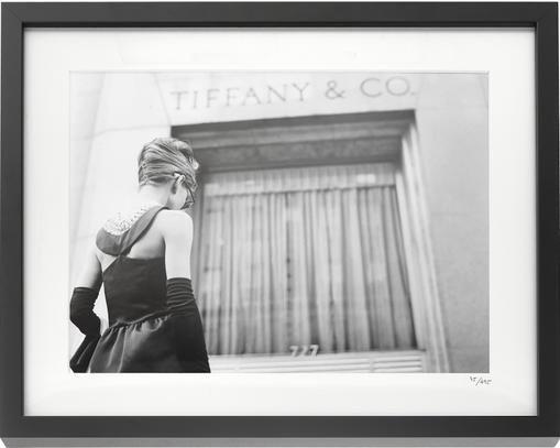 Gerahmter Fotodruck Hepburn Breakfast at Tiffany