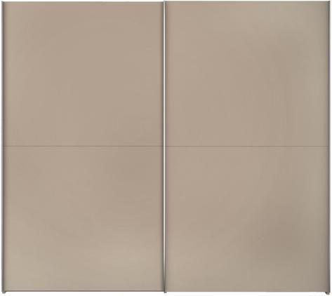 Kleiderschrank Oliver mit 2 Schiebetüren, inkl. Montageservice