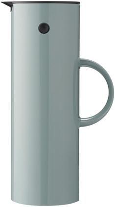 Isolierkanne EM77 in Grün glänzend, 1 L