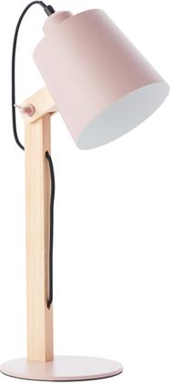 Große Schreibtischlampe Swivel mit Holzfuß