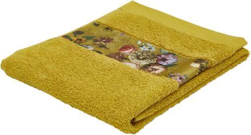 Handtuch Fleur in verschiedenen Grössen, mit Blumen-Bordüre