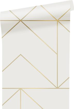 Papel pintado Gold Geometric Art