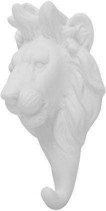 Wandhaken Lion aus Porzellan