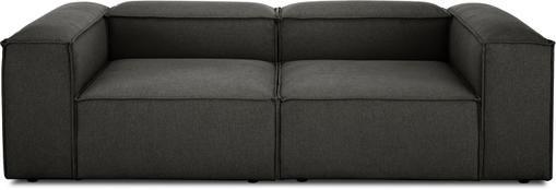 Modulares Sofa Lennon (3-Sitzer) in Anthrazit