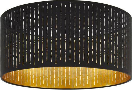 Deckenleuchte Varillas in Schwarz-Gold